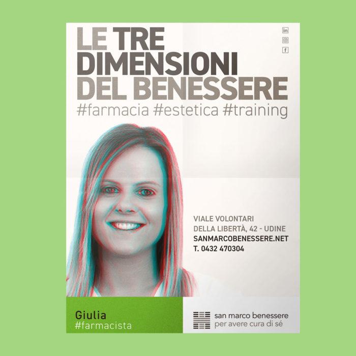 affissioni stereoscopiche a Udine