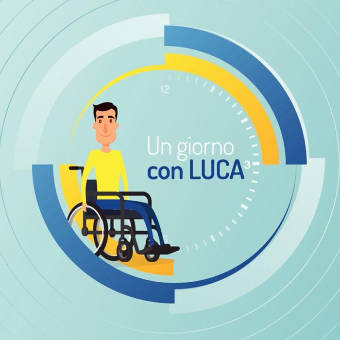 Luca, brand ambassador Sollevati