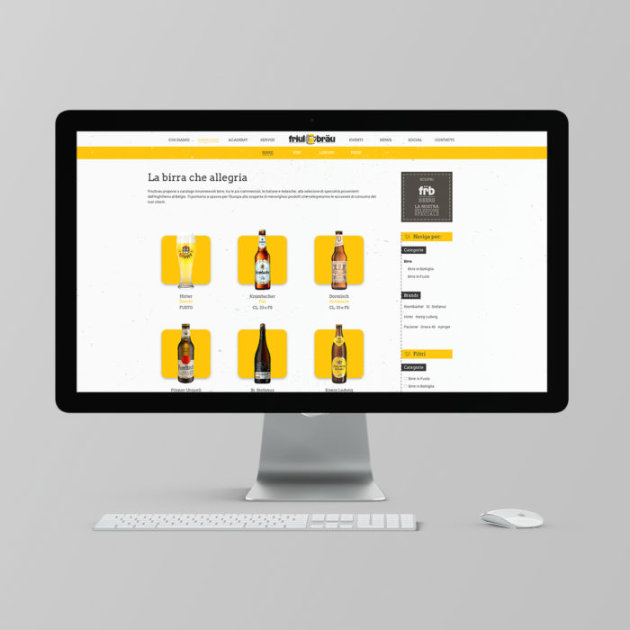 Comunicazione integrata - Catalogo online Friulbrau
