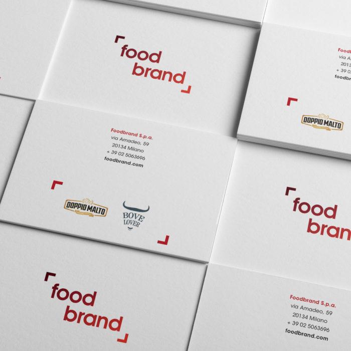 Food Brand biglietto da visista