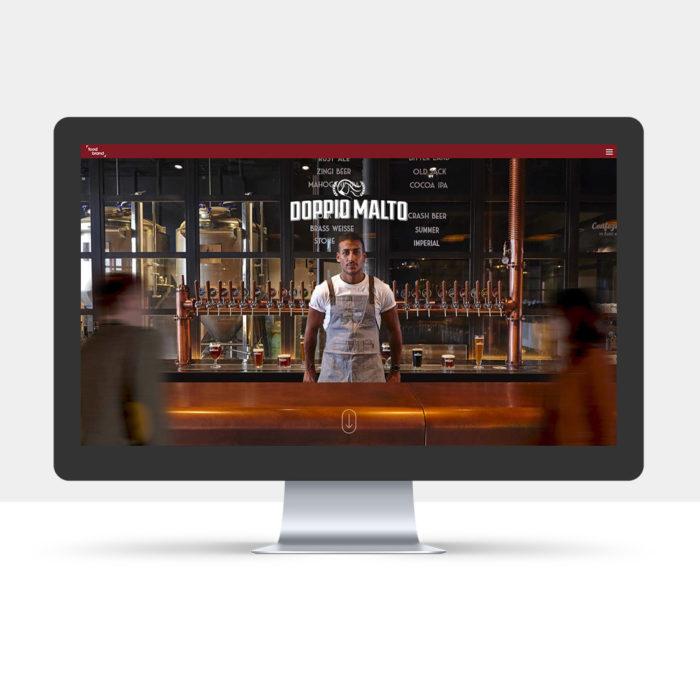 Food Brand Sito internet responsive