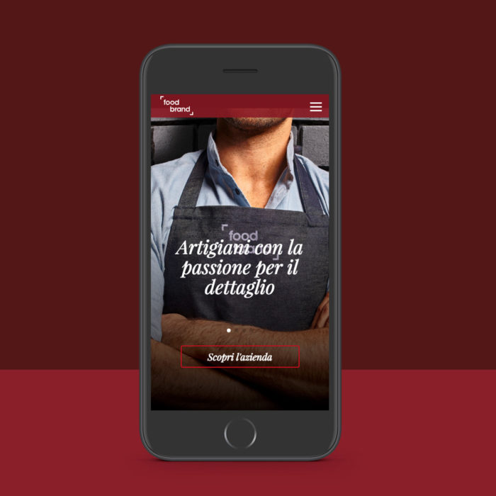 Food Brand Sito Responsive