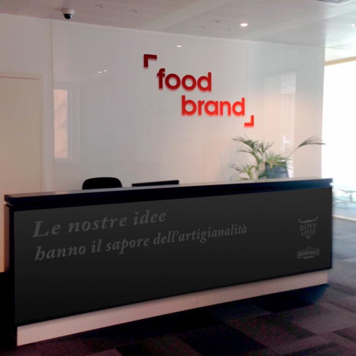 Food Brand - Area accoglienza