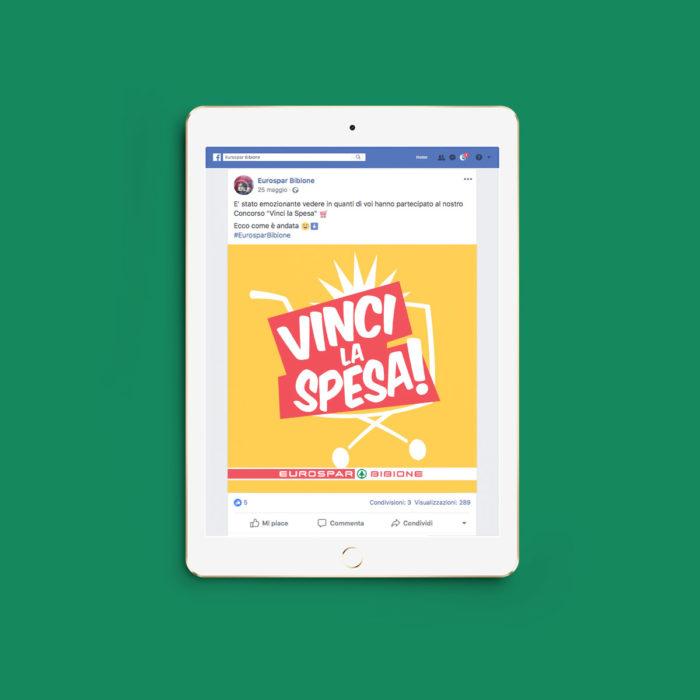 facebook vinci la spesa